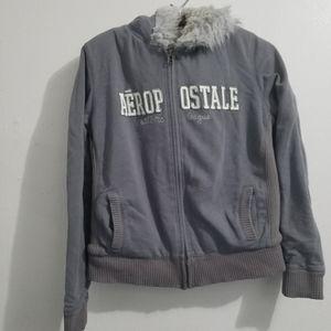 Aeropostale Sweater / jacket with hoody
